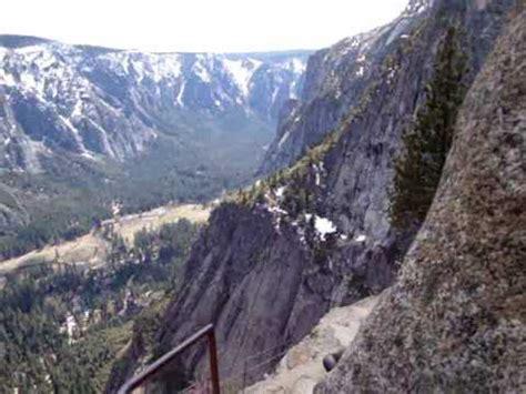Yosemite California Upper Falls Hike Youtube