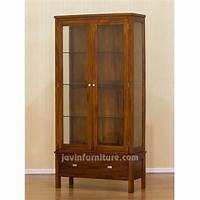 glass door cabinets Storage Cabinet with Glass Doors | HomesFeed