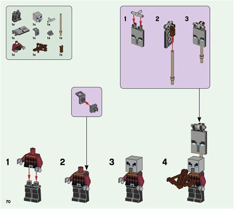 lego   illager raid instructions minecraft