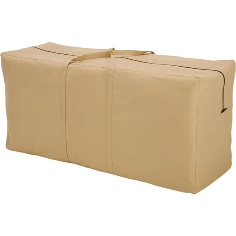 outdoor cushion storage bag in patio furniture covers