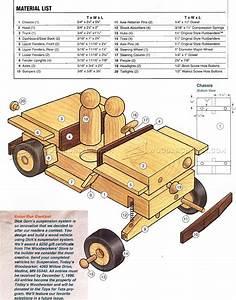 Wooden Jeep Plans • WoodArchivist