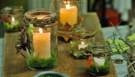 Herbstdekoration Selber Machen by Basteln Mit Naturmaterialien Kerzenhalter Selber Machen