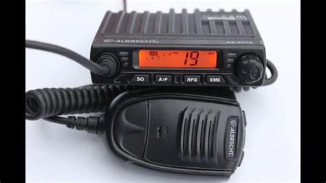 albrecht ae 6110 cb radio albrecht ae 6110