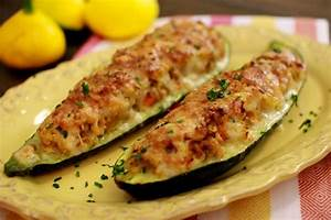 Zucchini Stuffed With Pork and Barley - Olga's Flavor Factory