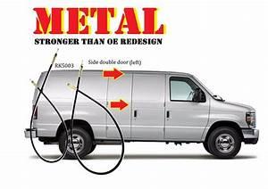 For Metal Econoline Van Handle Side Cargo Latch Release