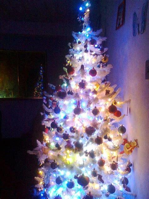 arbol de navidad blanco decorar tu casa es facilisimo com