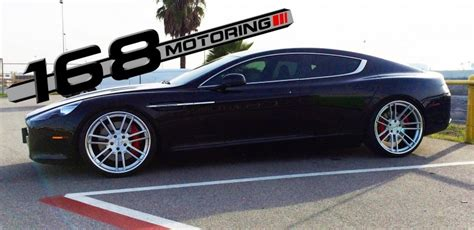 Tastefully Tuned Aston Martin Rapide By 168 Motoring