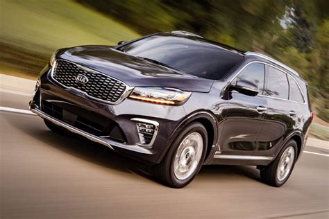 Kia 2019 : All 2019 Kia Sorentos Get Third Row, Higher Prices