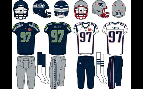 Super Bowl 49 Logo Field And Uniforms Concepts