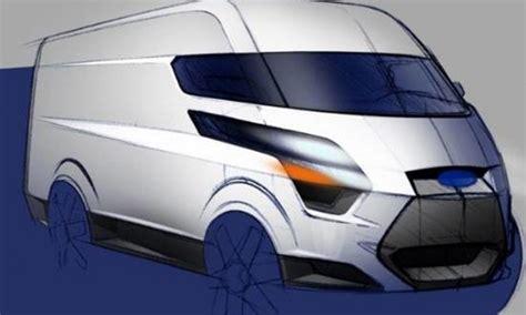 ford transit custom revealed   model ford