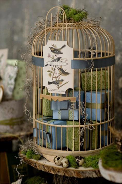 give your home a chic decor by reusing your bird cage in 25 ways