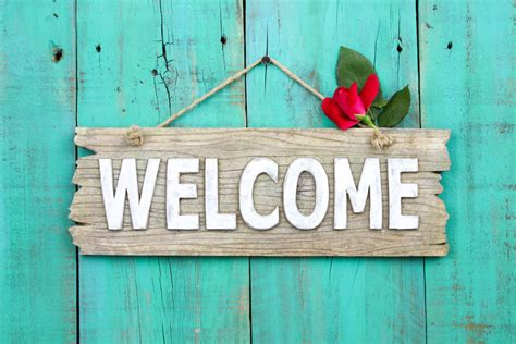 How To Make A Welcome Sign Ebay