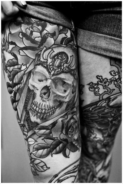 Thigh Tattoos : Page 29