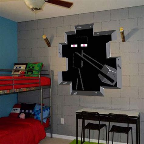 amazoncom minecraft wall decal decor enderman