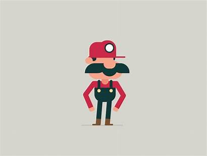 Dribbble Animation Firestarter Mario 2d Character Studio