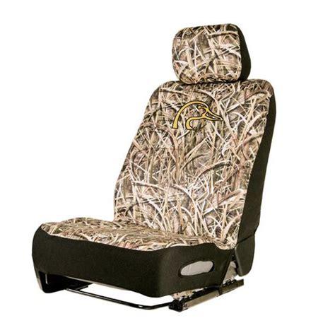Neoprene Boat Seat Covers by Ducks Unlimited Mossy Oak Low Back Neoprene Seat Cover