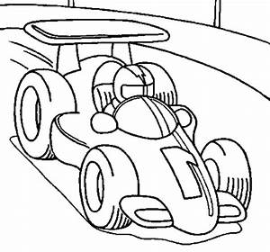 Race Cars Coloring Pages Getcoloringpagescom