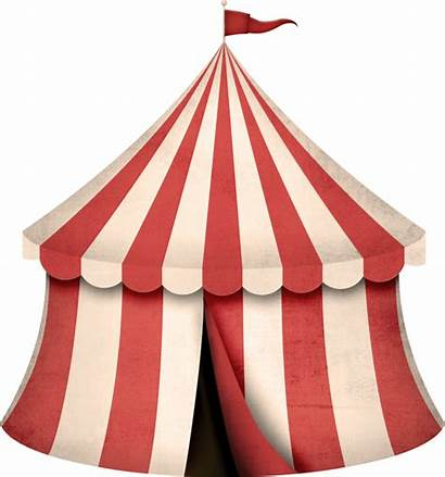 Circus Tent Transparent Clipart Background Carnival Clip