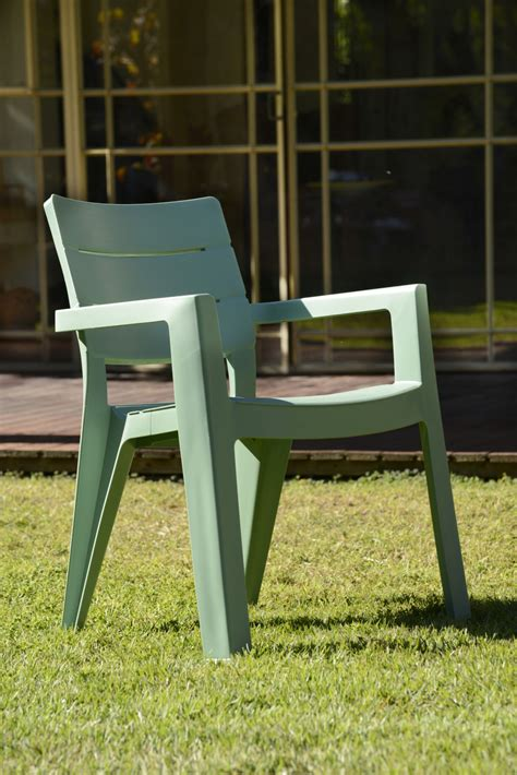 chaise de jardin verte awesome salon de jardin vert allibert contemporary