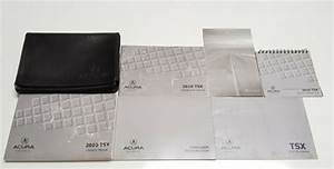 2010 Acura Tsx Owners Manual User Guide I4 2 4l V6 3 5l