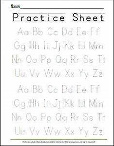 free printable handwriting abc worksheet now that evie With learning to write alphabet templates