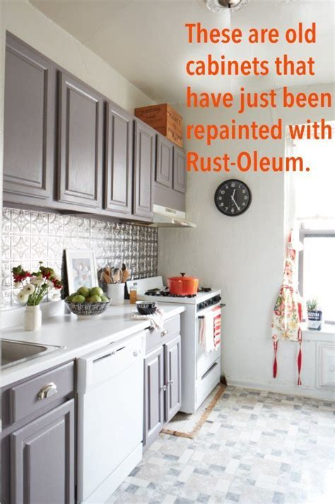 kitchen cabinet paint rustoleum rust oleum cabinet refinishing kit maxwell s daily find 5636