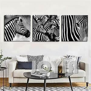Panel wall art decorative paintings black and white