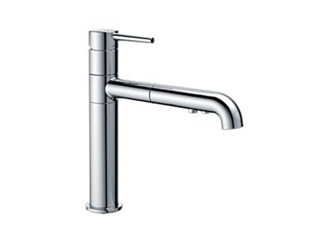 delta trinsic faucet with soap dispenser delta 4159 dst trinsic single handle pull out kitchen