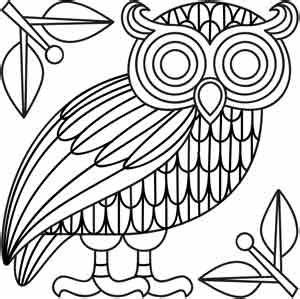 Athena's Owl | Urban Threads: Unique and Awesome ...