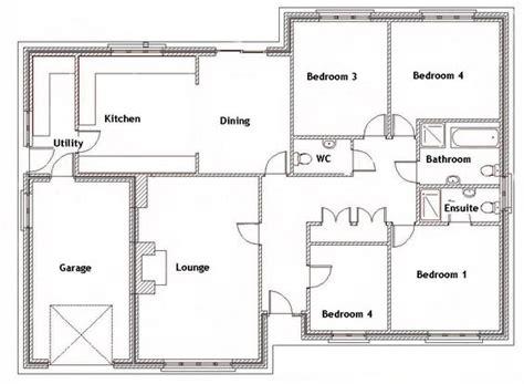 Split Bedroom Plan by Split Bedroom House Plans For 1500 Sq Ft 4 Bedroom House