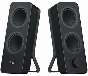 Pc Lautsprecher Bluetooth : logitech z207 2 0 stereo computer speakers with bluetooth ~ Watch28wear.com Haus und Dekorationen