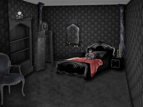gothic room by drugbones on deviantart