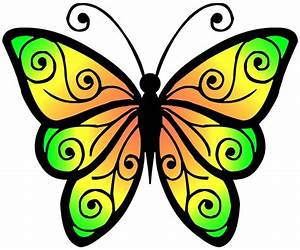 Clipart Butterfly 4 Free Stock Photo - Public Domain Pictures