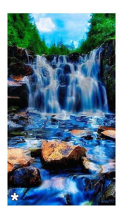 Nature Waterfalls Non India Quotes Gifs Waterfall