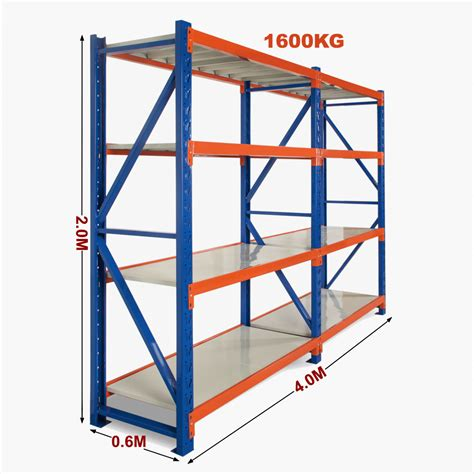 Garage Storage Racking Shelving by 4m New Heavy Duty Warehouse Garage Metal Steel Storage