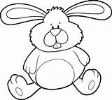 Bunny Coloring Printables Pages sketch template