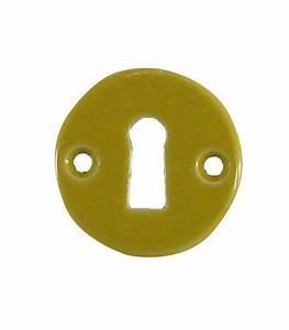 rosace de fonction trou cle jaune moutarde 1001poignees With entree de cle pour meuble 11 poignee de porte 1001poignees votre specialiste de la