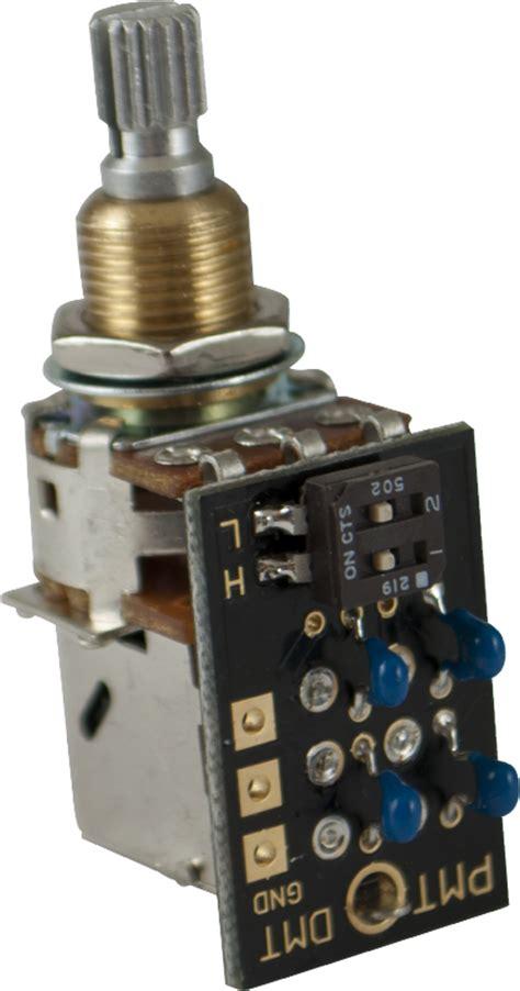 Potentiometer Pmt Dual Mode Tone Control Shaft