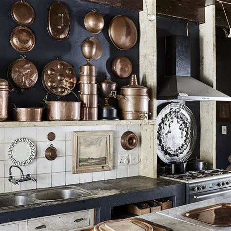 solutions copper kitchens elle decoration uk