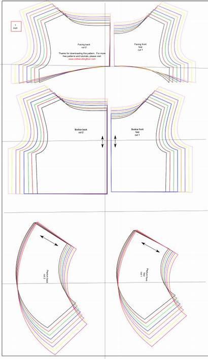 Peplum Sewing Patterns Pattern Cutting Printable Pdf