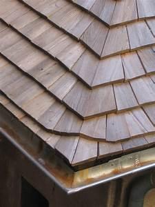 Toit En Bois : le toit de bois description du bardeau en ch taignier ~ Melissatoandfro.com Idées de Décoration