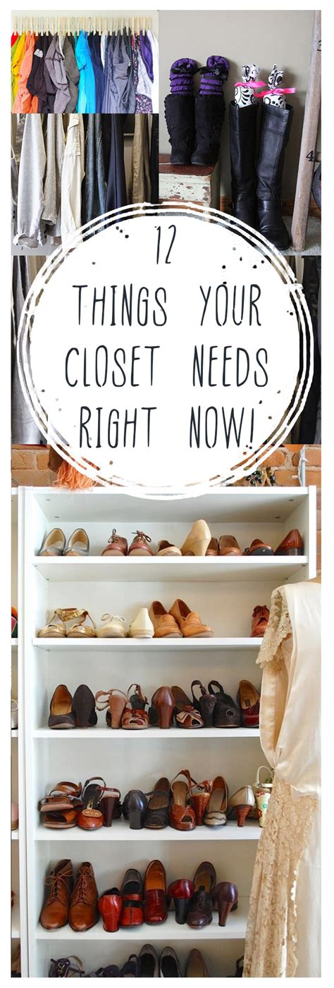10 Reasons To Declutter Your Closet Right Now by 12 Things Your Closet Needs Right Now