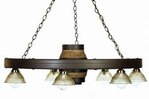 Wagon wheel chandeliers quot downlight reproduction cast