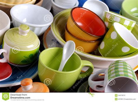 colorful kitchen gadgets modern cooking colorful kitchen utensils stock image 2346