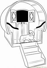 Dog Coloring Stairs Stair Getcolorings Printable Coloringpages101 sketch template
