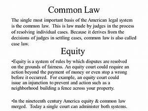 Ch. 15 Law in America. - ppt download