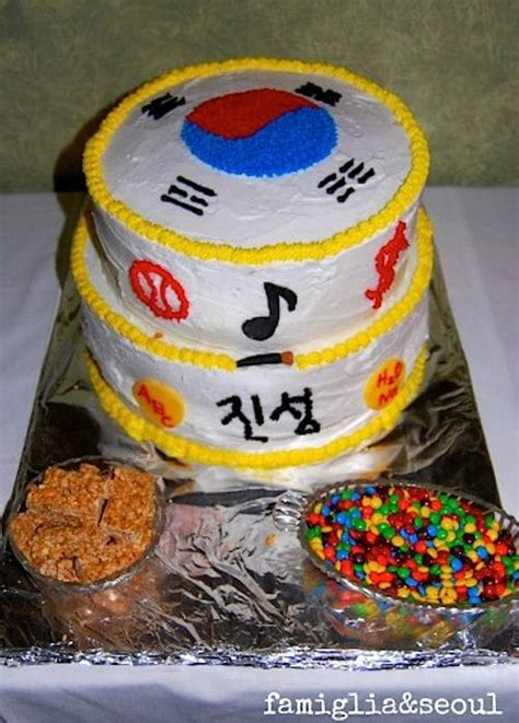 korean  birthday celebration