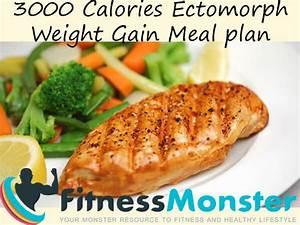 3000 Calories Sample Ectomorph Diet