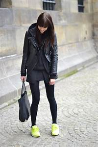 Outfit | Black and neon u00ab Lovely by Lucy