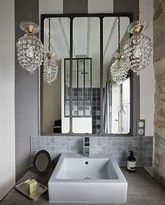 les 25 meilleures idees de la categorie salle de bains With miroir salle de bain industriel